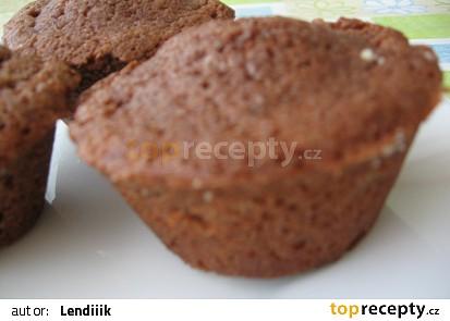 Muffiny s rumovými rozinkami