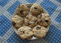 Oříškovočokoládové sušenky