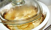 Plněný biftek se smetanovými brambory