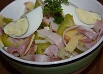 Pochoutkový salát se šunkou