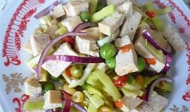 Pórkový salát s tofu