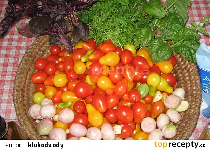 """Rajčatové """"Pesto"""""""