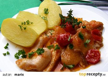 Rybí filé na italský způsob