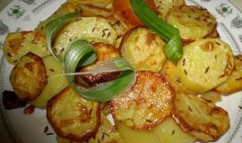 Rychlé pečené brambory