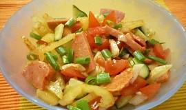 Salát ze špekáčků