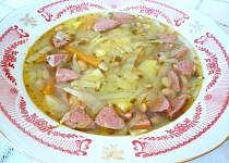 Sójová polévka se zeleninou