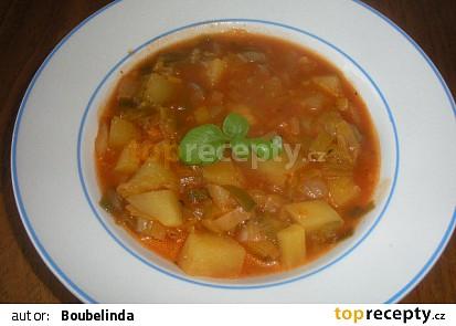 Sytá pórková polévka