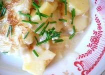 Zapečené brambory s droždím