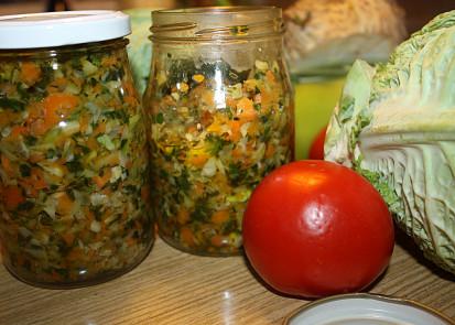 Zelenina na zimu