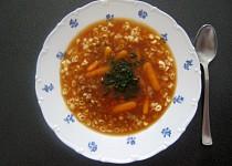 Zimní mrkvová polévka