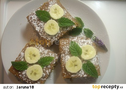 Americká banánová buchta
