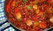 Červené fazole a la Katův šleh