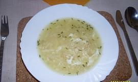 Drožďovo-sýrová polévka