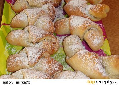 Jablečné rohlíčky