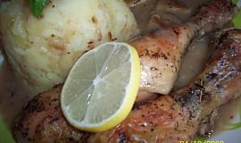 Kořeněné citronové kuře