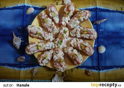 Krabí minichlebíčky