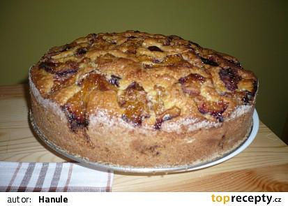Křehký švestkový koláč (rychlý, snadný, bez vážení)
