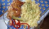 Kuře v sýrovém těstíčku na šlehačce