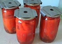 Nakládaná paprika v oleji