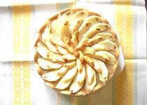 Nepečený dort z jablek a hrušek