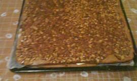 Ořechové medové řezy
