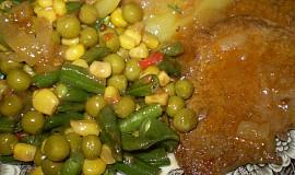 Přírodní hovězí plátky se zeleninkou