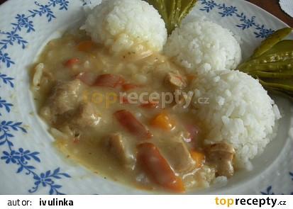 Sojové maso se zeleninou