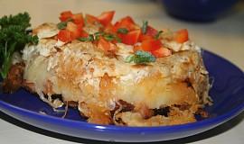 Šumavský bramborový nákyp