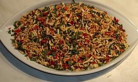 Sušená zelenina jako koření