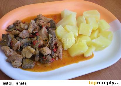 Vepřové maso na maďarský způsob