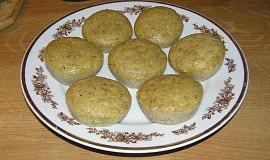 Bezlepkové banánové muffiny