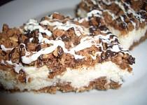 Kokosovo tvarohový koláč - strouhaný