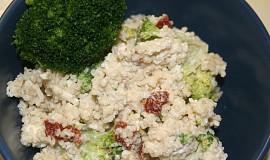 Kuskus s brokolicí a nivou