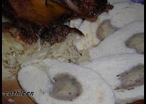 Kynutý knedlík s bramborákem