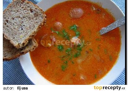 Madloch-sytá polévka