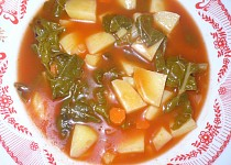 Mangoldová polévka