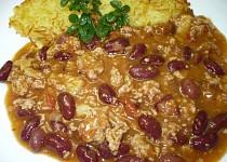 Mleté maso s fazolemi