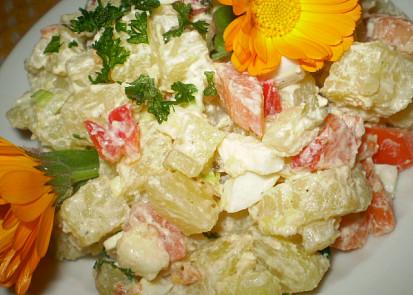 Odlehčený bramborový salát