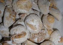 Ořechové  miňonky - cukroví