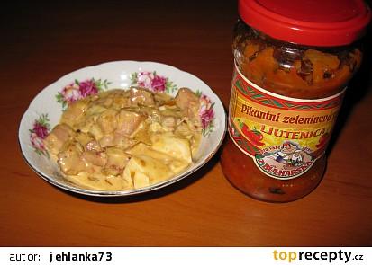Připravená směs na bramborák+směs Ljutenica
