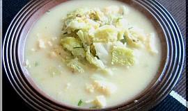 Skoro krémová kapustová polévka
