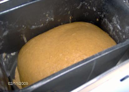 těsto v pekárně