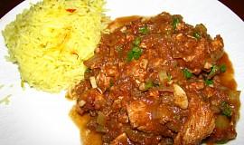 Indicke kura na sposob vindaloo / wok