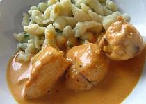 Kuře na smetaně
