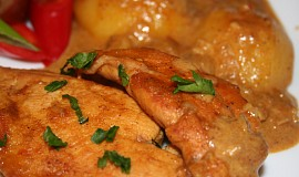 Kuře po indicku