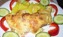 Kuřecí masíčko s pěnovou omáčkou