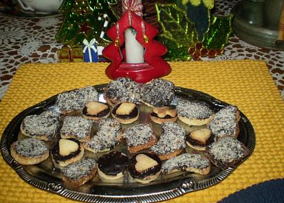 Linecké kokosové cukroví