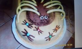Pavoučí dort