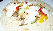 Plněná tortila