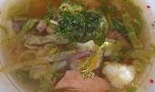 Polévkou z drůbežího masa  proti nachlazení a chřipce